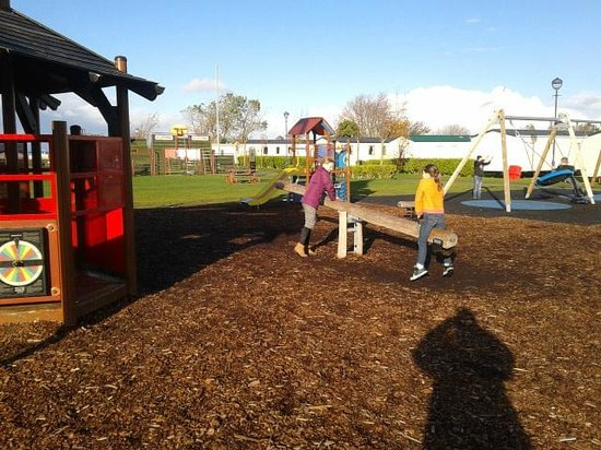 Craig Tara Holiday Park - Haven: Delightful open play area at Craig Tara, Ayr
