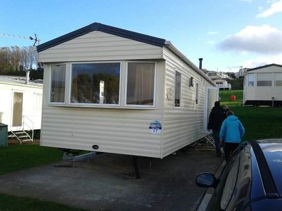 Craig Tara Holiday Park - Haven: The Superior caravan with two bedrooms