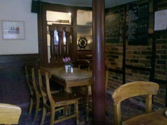The Anchor Bleu: Inside the front bar area