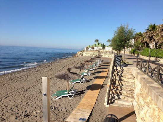 Gran Hotel Elba Estepona & Thalasso Spa: The beach