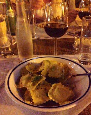 La Pasta : A nice ravioli plate.