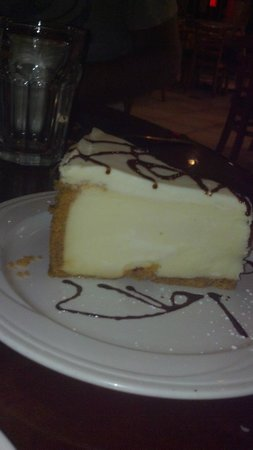 New York's Best Italian Bistro: New York Style Cheesecake baked just for them