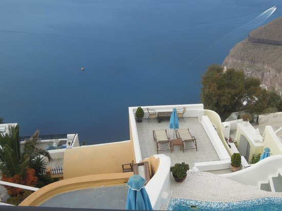Villa Renos: Another view from Room #1