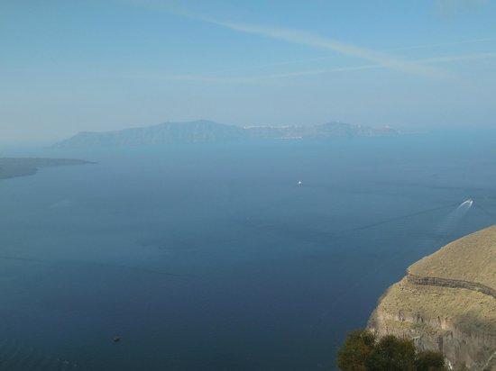 Villa Renos: Gorgeous caldera view