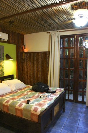 Hotel Banana Azul : Red Frog room, one of the few with A/C
