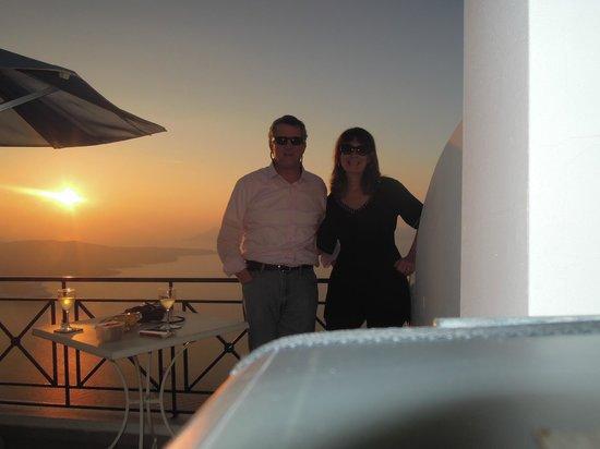 Villa Renos: Sunset