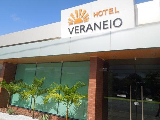 Fachada do Hotel Veraneio