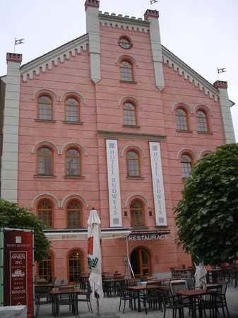 Hotel Budweis: hotel front