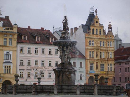 Hotel Budweis: city square