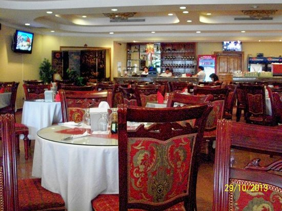 Jin Foon Restaurante: Well furnished and appointed Chinese atmosphere