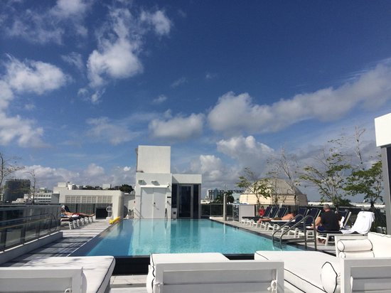 Gale South Beach: Roof deck pool