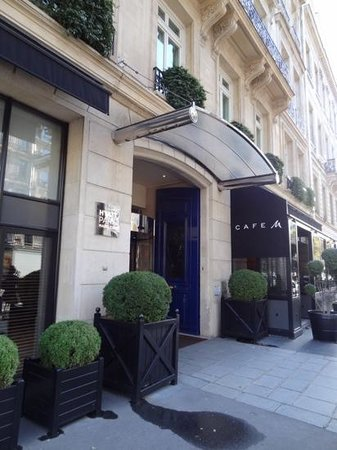 Hyatt Paris Madeleine: entrance area