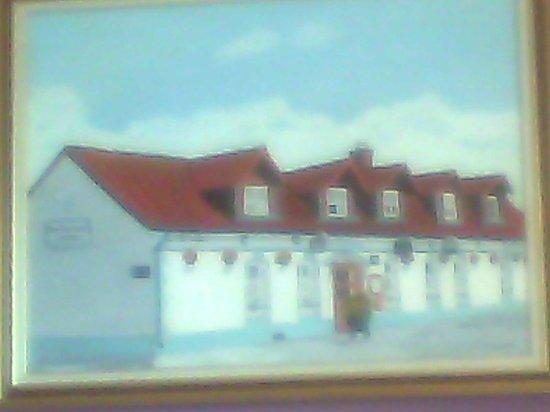 La Barriere: peinture du restaurant