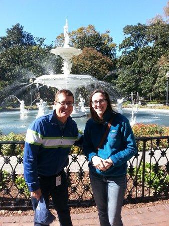 Savannah Bike Tours: Me and Dee