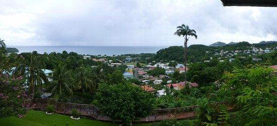 Bel Jou Hotel : View from the restaurant veranda