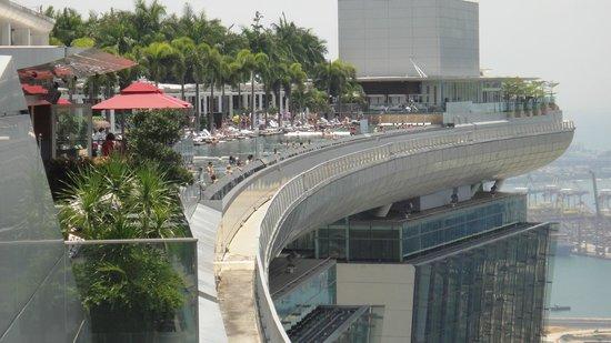 Piscina com borda infinita foto de marina bay sands skypark singapura tripadvisor - Ingresso piscina marina bay sands ...