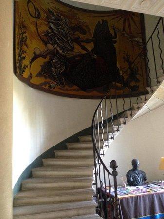Arquier : escalier