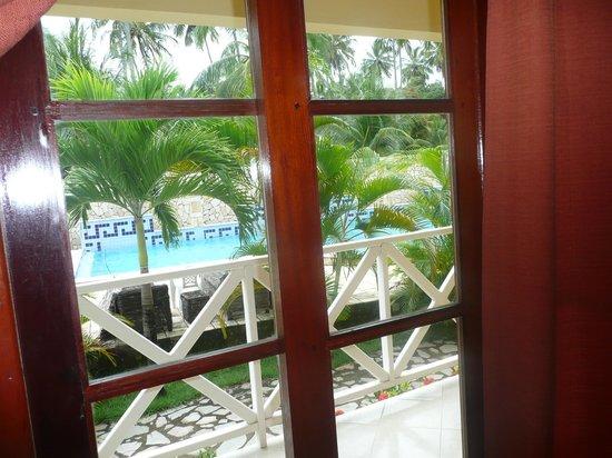 Peroba Villa Hotel: Piscina vista desde la habitacion