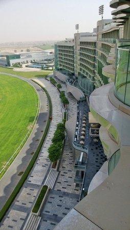 The Meydan Hotel: вид из номера