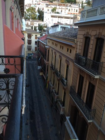 Hostal Atenas : Side balcony view.
