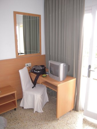 Hotel Samba: Detalle de la habitacion.