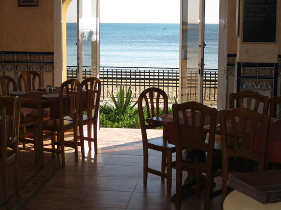 El Bistro de la Playa: Great View