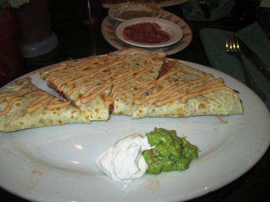 Hussong's Cantina: Delicious Quesadillas