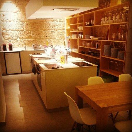 Youth Hostel Jávea: Cocina