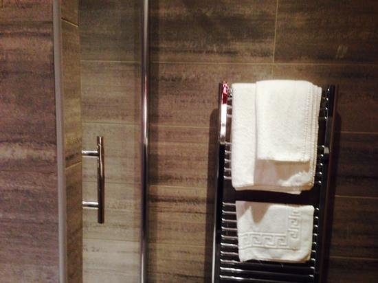 Eaton Hotel: shower