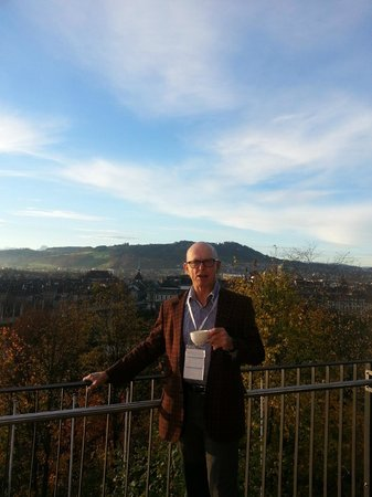 Hotel Allegro Bern : nice view from the balcony  great weather for november!