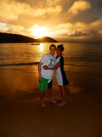 Rio Buzios Beach Hotel: Atardecer en Praia Joao Fernandinho