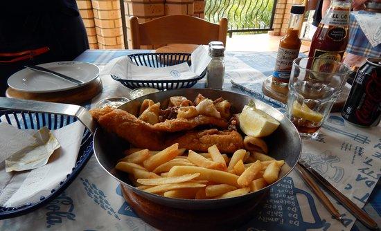 Ocean Basket : A fine lunch