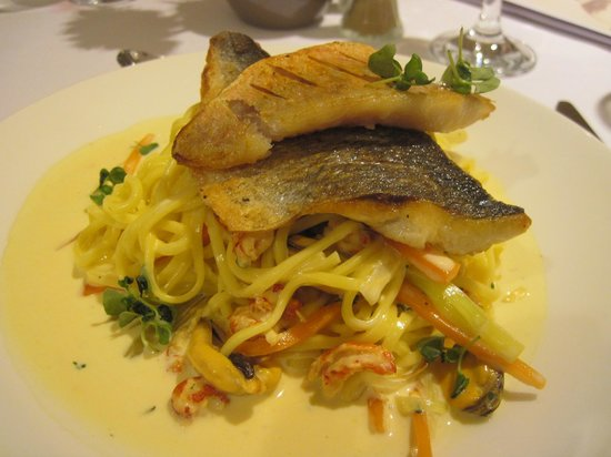 The Combe Restaurant: Seafood Linguine