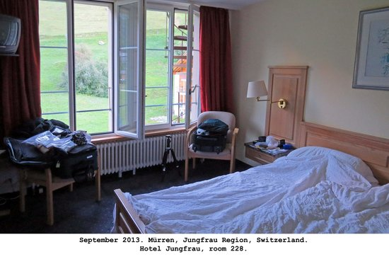 Hotel Jungfrau: Room 228