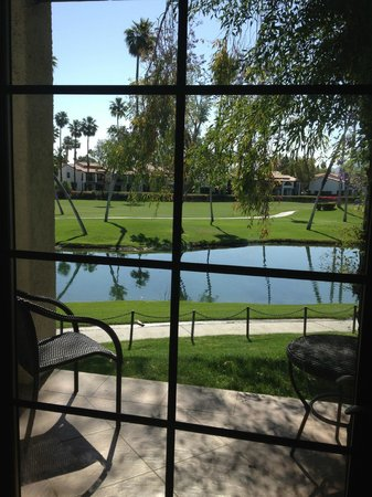 Omni Rancho Las Palmas Resort & Spa: View from the room