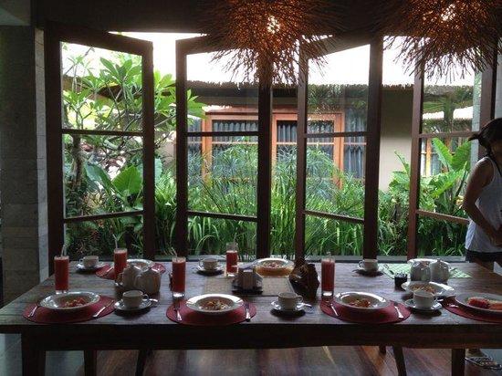 Luwak Ubud Villas: Dinning area