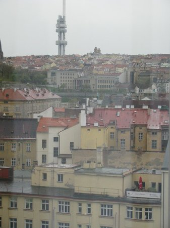 Hilton Prague: view from room