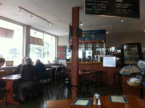 Inside Jan's Cafe and Bistro