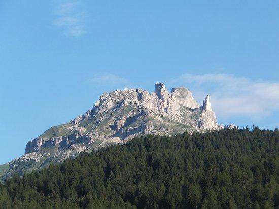 Hotel Dolomiti: 部屋からの眺め