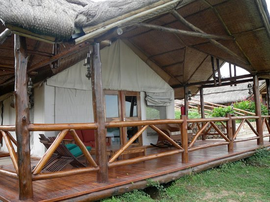 Mweya Safari Lodge: One of the tents