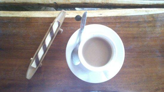 Topi Inn: Café con detalle