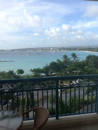 Hilton Barbados Resort: View from room