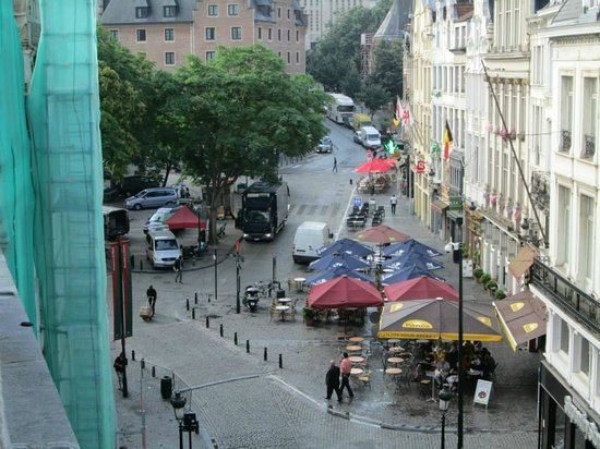 Aris Grand Place Hotel: view from room