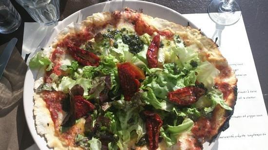 Restaurant le Garde: pizza du garde