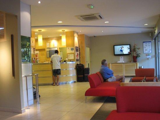 Le Lagon Hotel: Lobby of le Lagon