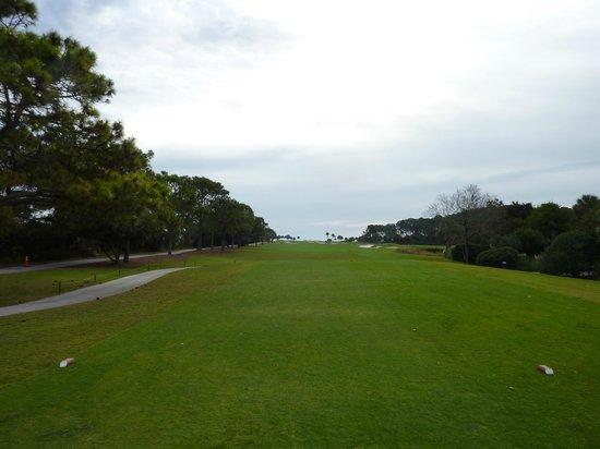 Robert Trent Jones Oceanfront Course: from white tees on 10