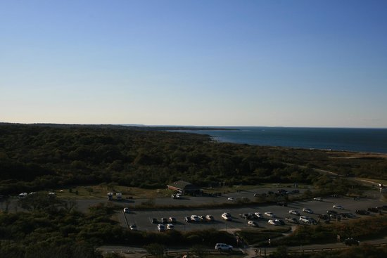 Montauk Point Lighthouse: view to the north