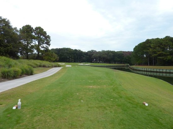 Robert Trent Jones Oceanfront Course: 8th hole