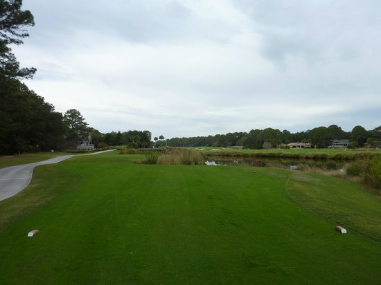 Robert Trent Jones Oceanfront Course: 13th hole
