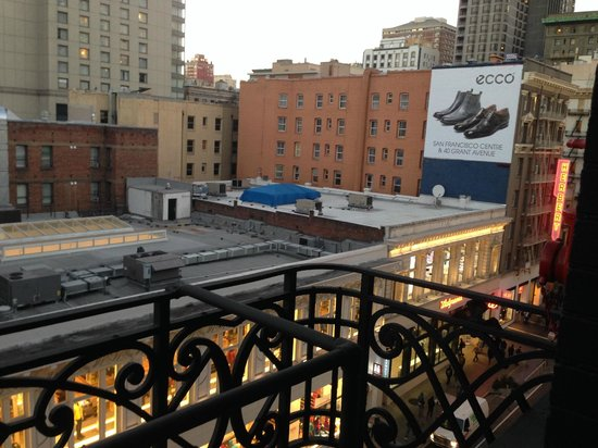 Hotel Union Square: View from 601